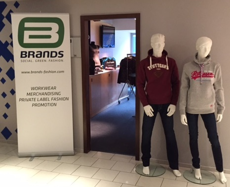 Brands Fashion auf der 14. Merchandising Messe in Hamburg