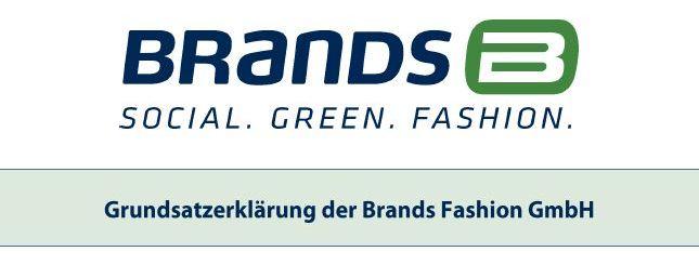 Grundsatzerklärung Brands Fashion