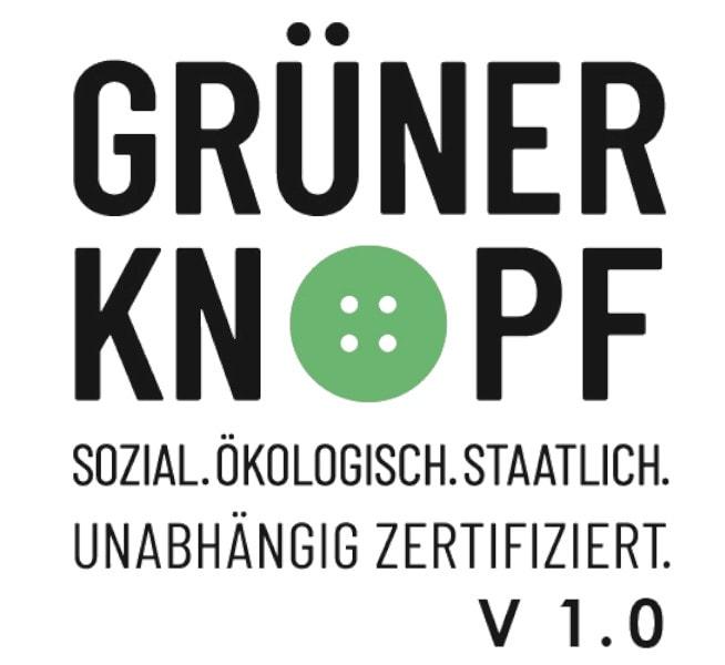 BRANDS FASHION wird mit dem GRÜNEN KNOPF zertifiziert